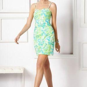 "Pink print Lilly Pulitzer ""McCallum"" dress"
